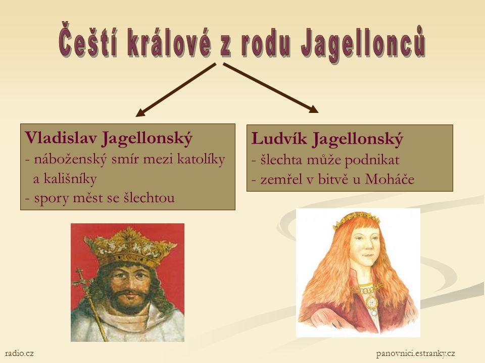 Čeští králové z rodu Jagellonců