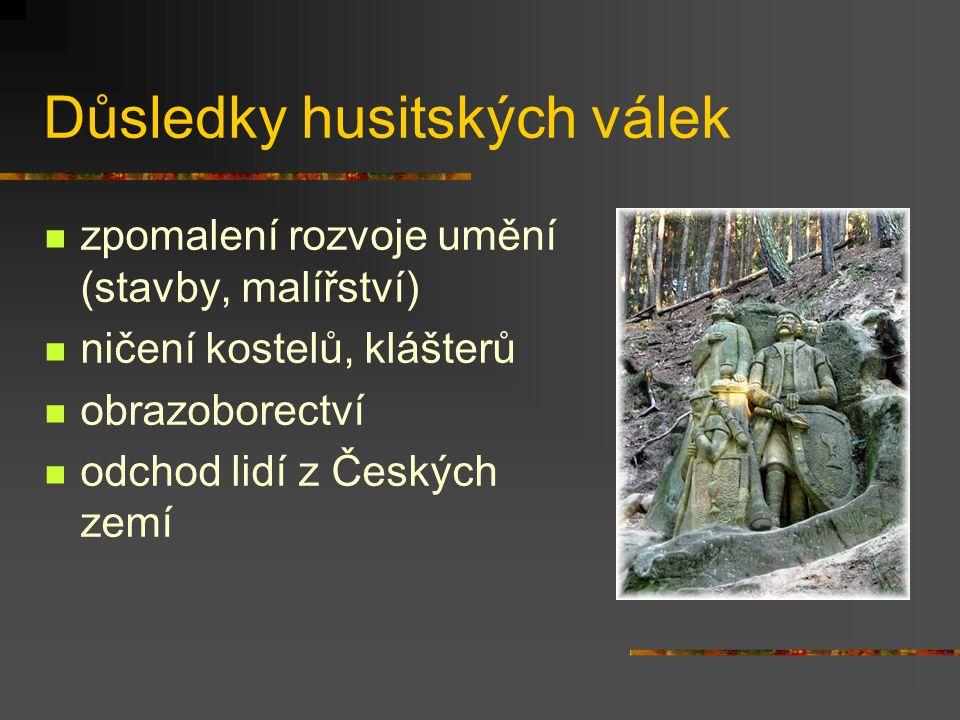 Důsledky husitských válek