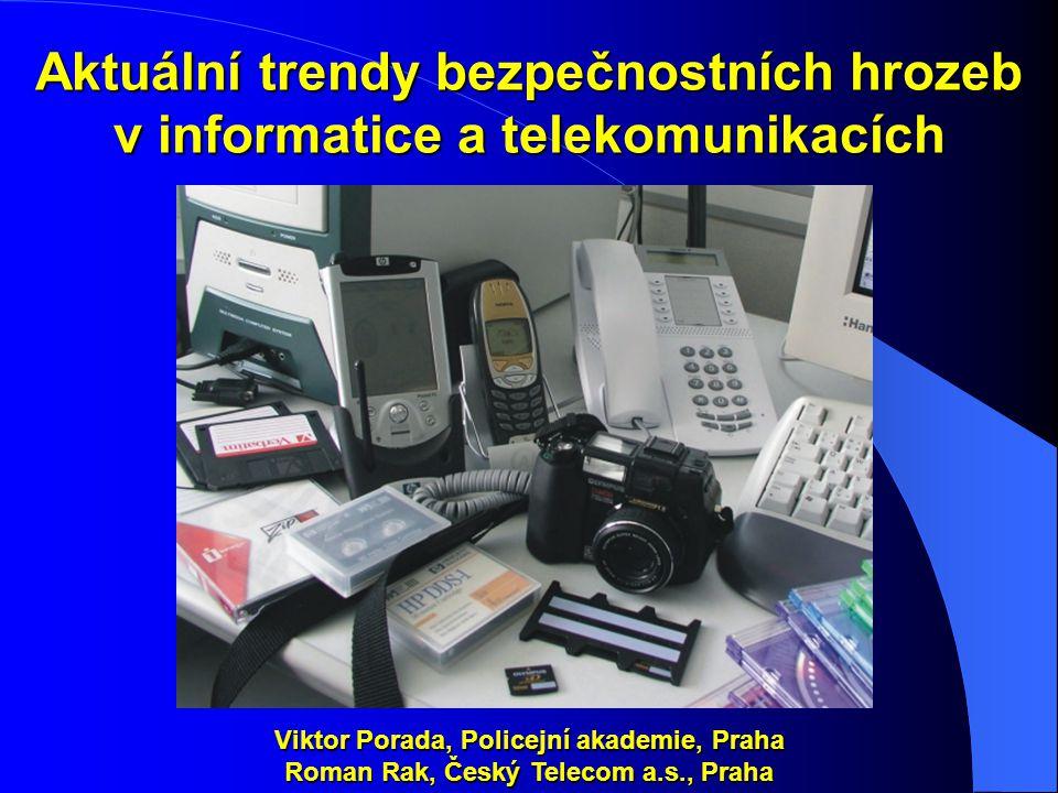 Aktuální trendy bezpečnostních hrozeb v informatice a telekomunikacích