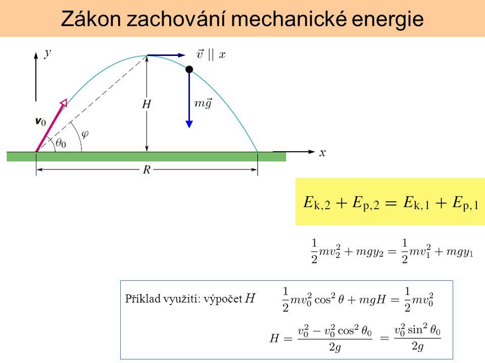 Zákon zachování mechanické energie