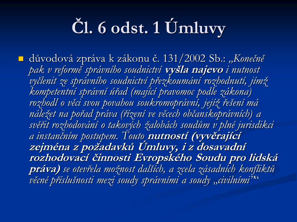 Čl. 6 odst. 1 Úmluvy