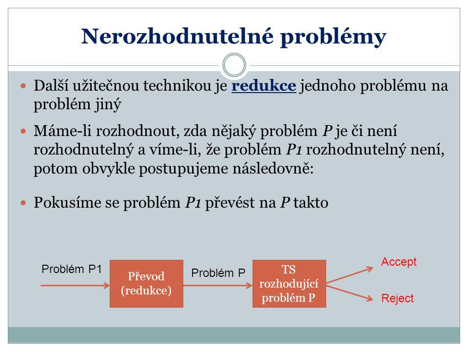 Nerozhodnutelné problémy