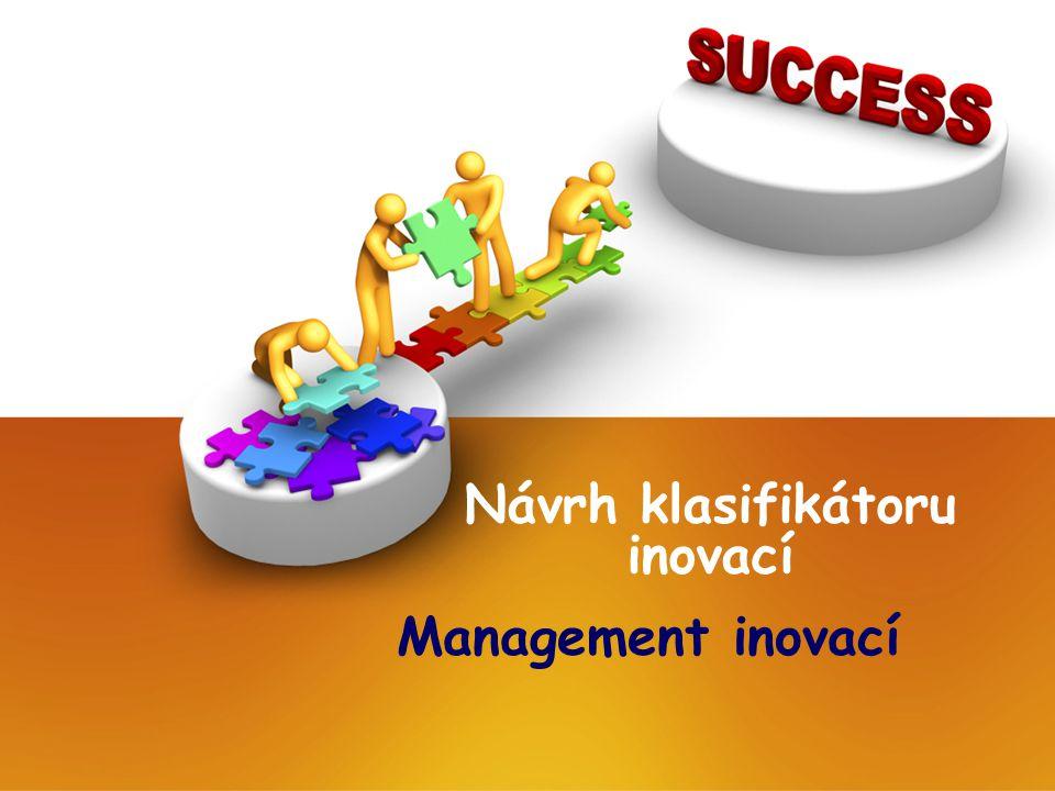 Návrh klasifikátoru inovací