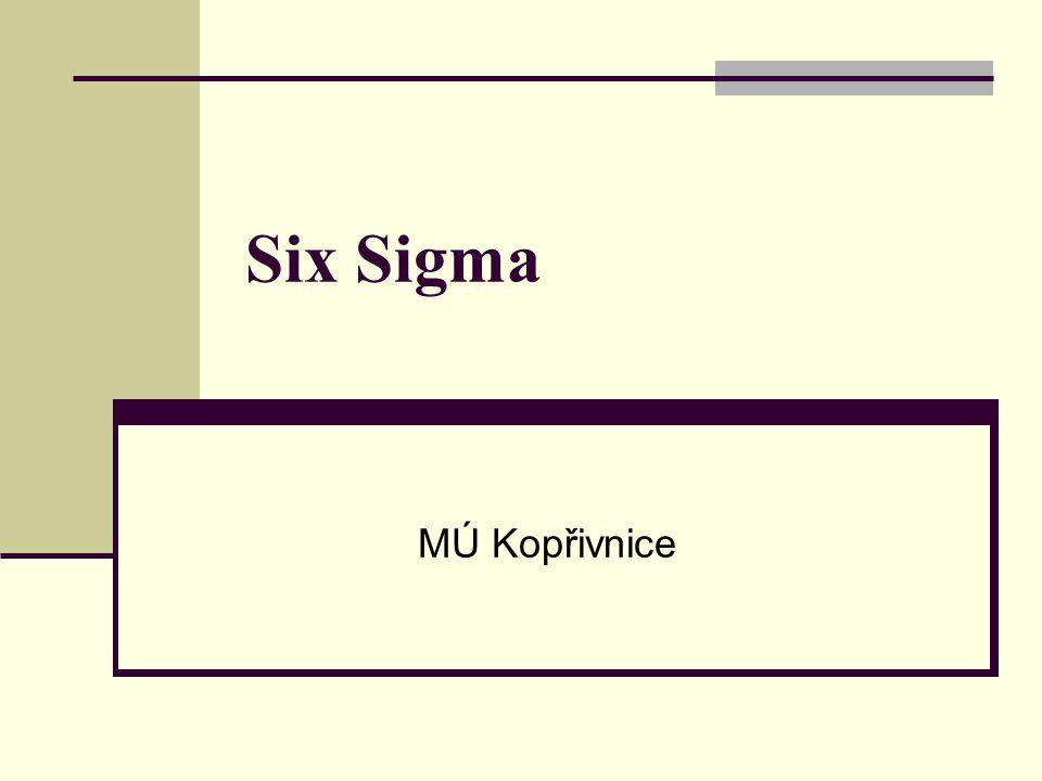 Six Sigma MÚ Kopřivnice