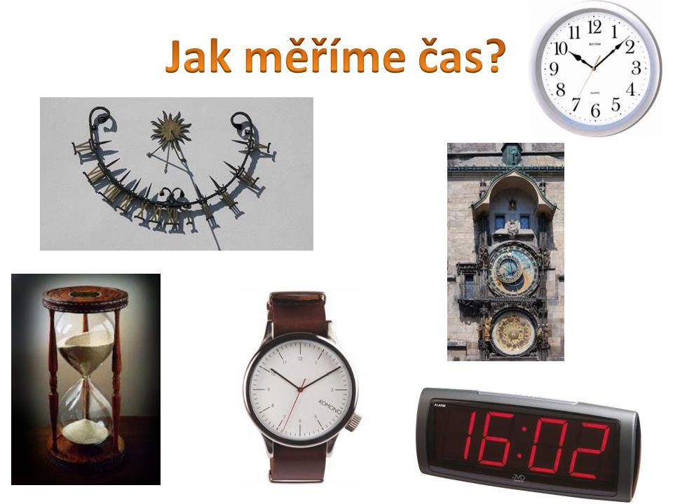 Jak měříme čas