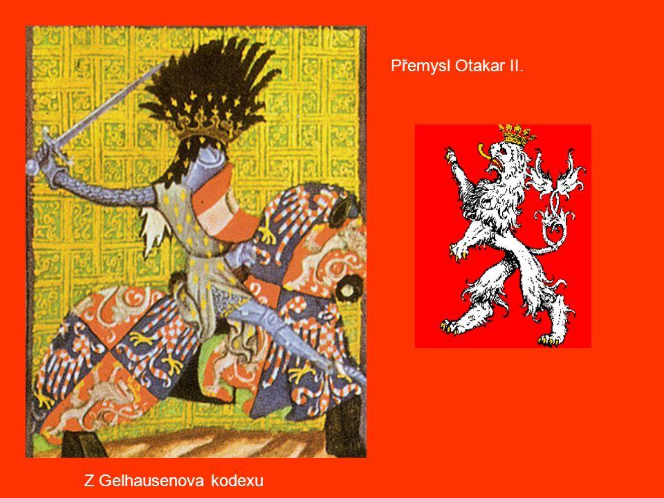 Přemysl Otakar II. Z Gelhausenova kodexu