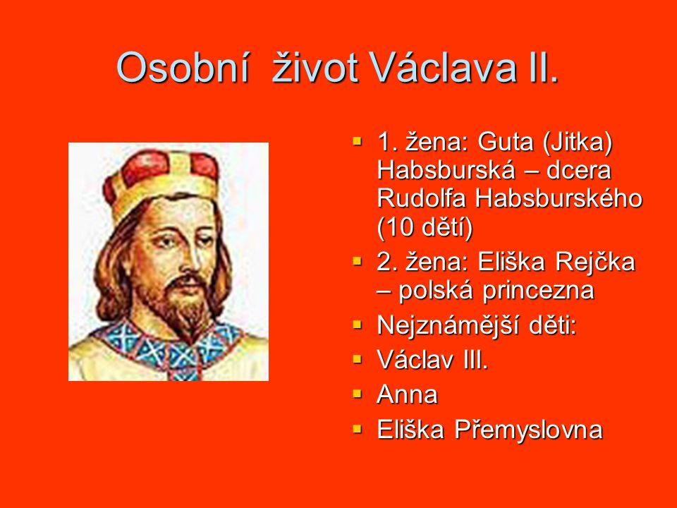 Osobní život Václava II.