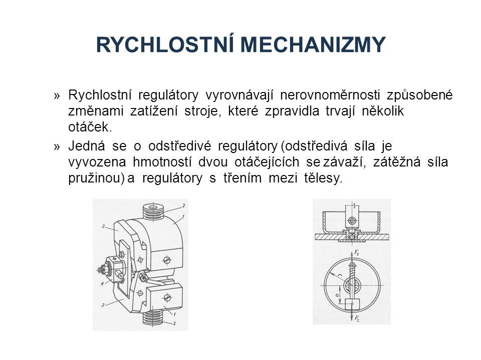 Rychlostní mechanizmy