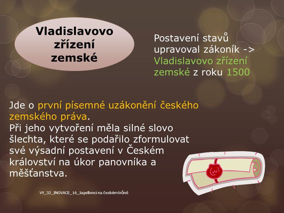 Vladislavovo zřízení zemské