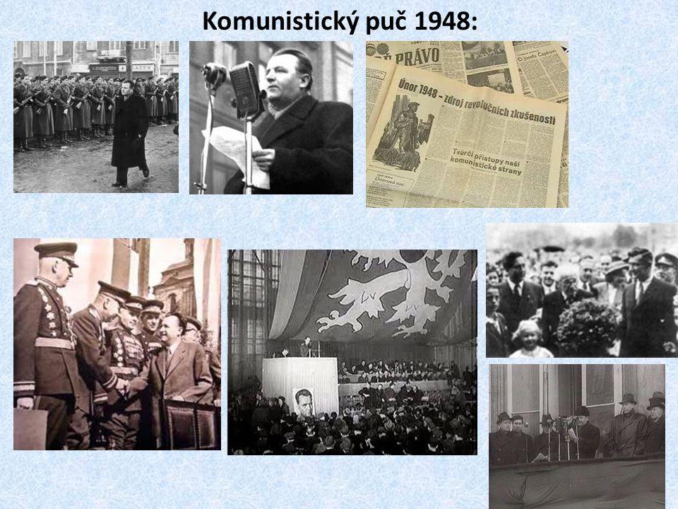 Komunistický puč 1948:
