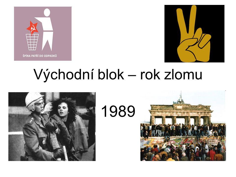 Východní blok – rok zlomu