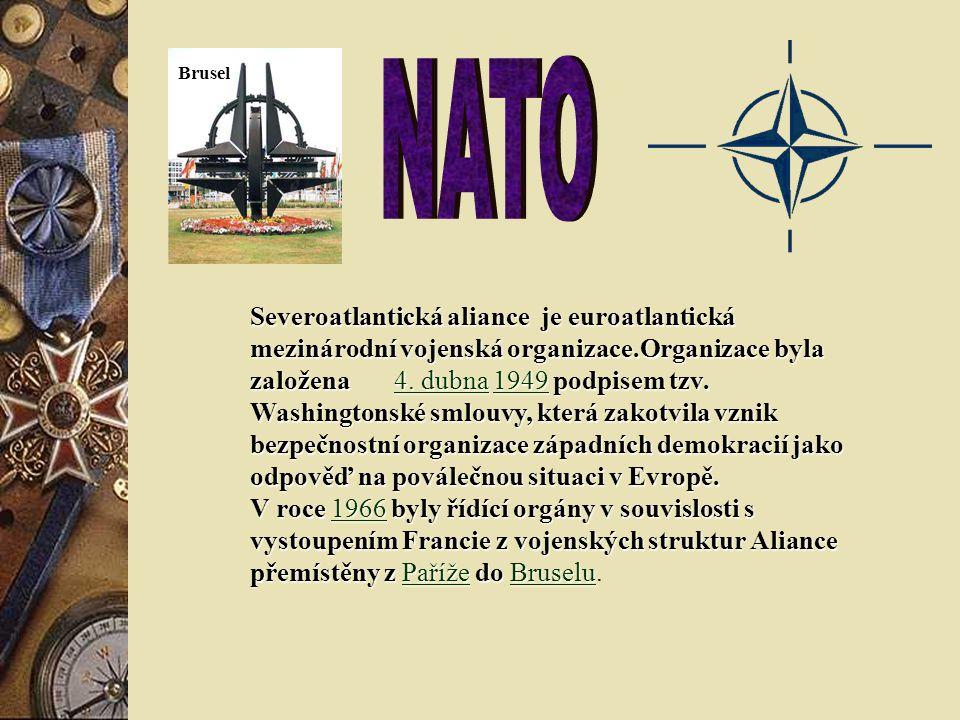 Brusel NATO.