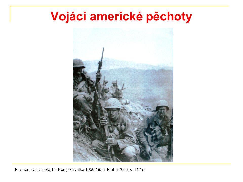 Vojáci americké pěchoty