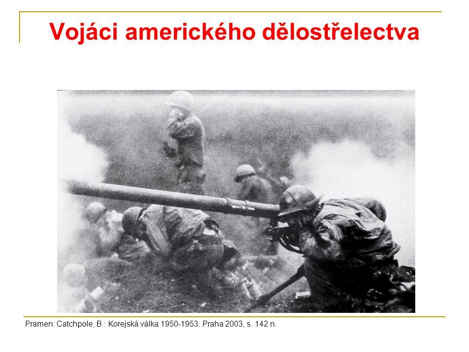 Vojáci amerického dělostřelectva