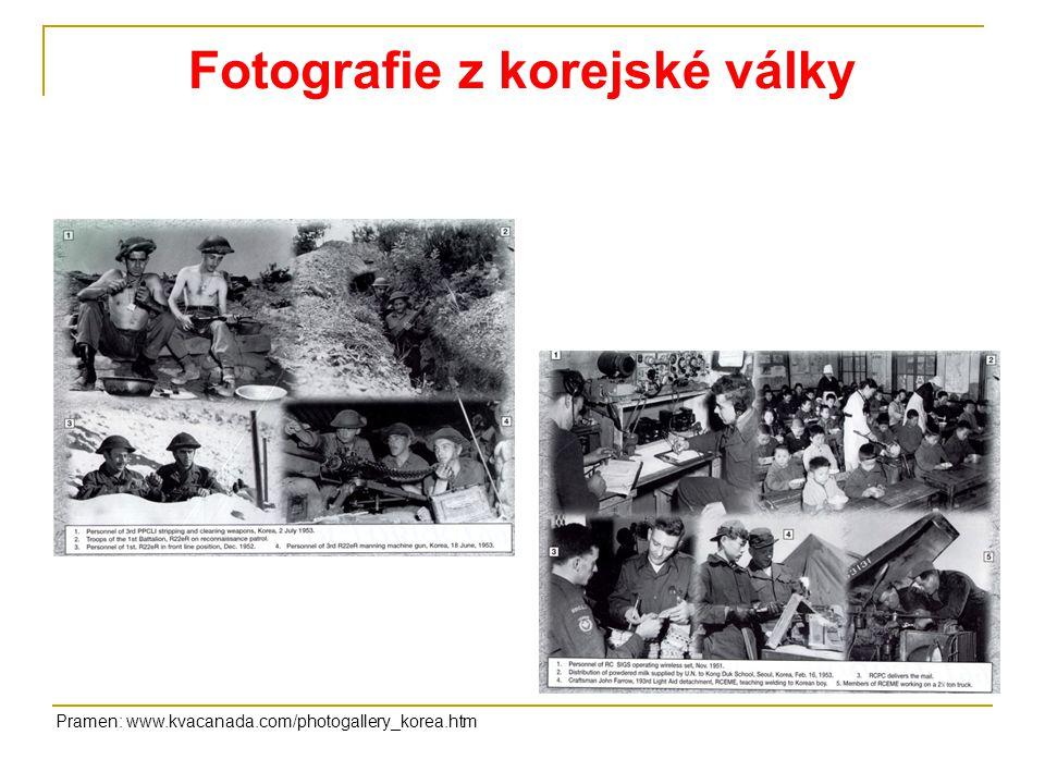 Fotografie z korejské války