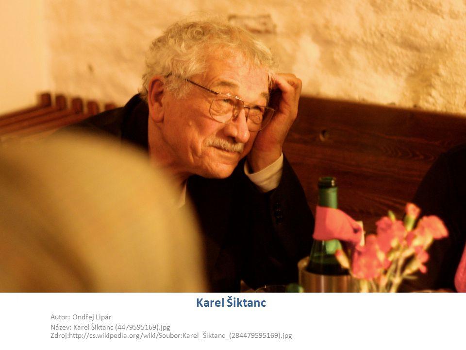 Karel Šiktanc Autor: Ondřej Lipár