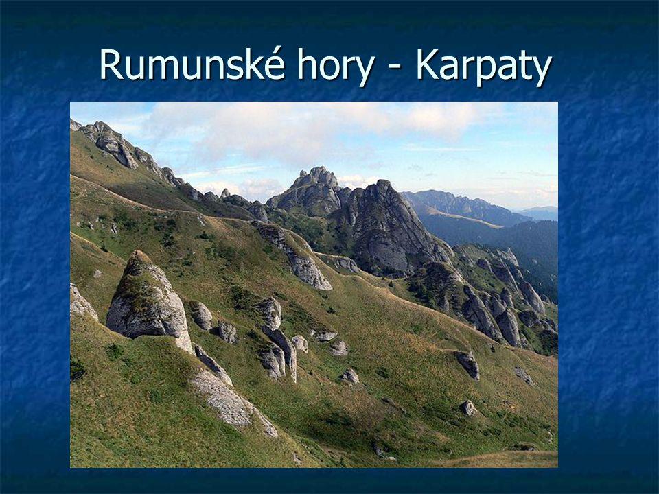 Rumunské hory - Karpaty