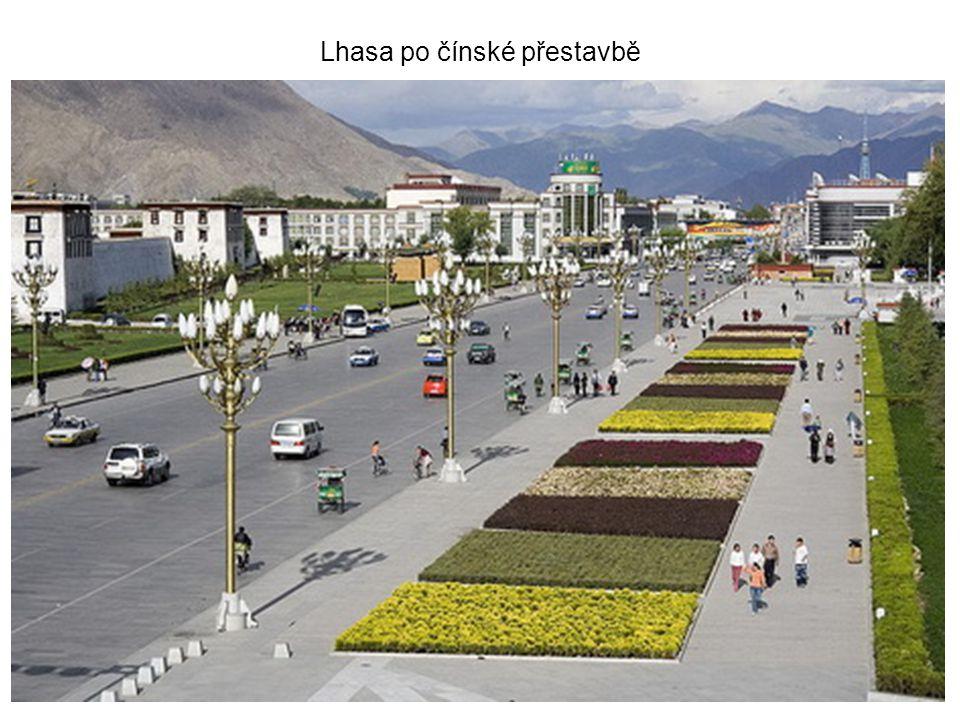 Lhasa po čínské přestavbě