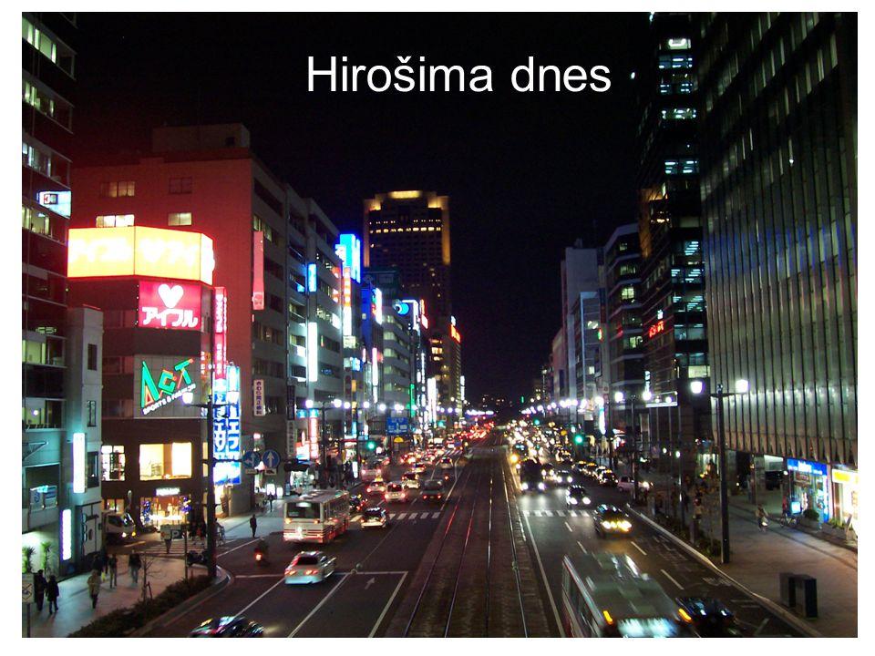 Hirošima dnes