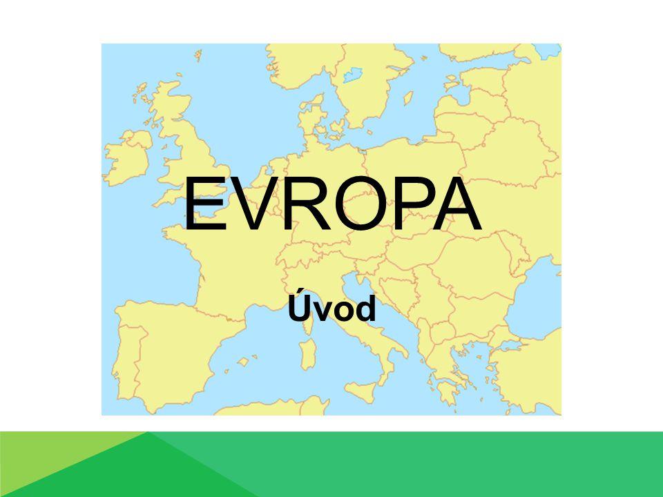 Evropa Úvod