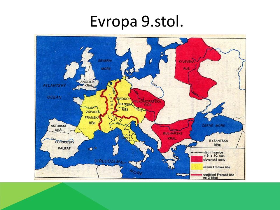 Evropa 9.stol.