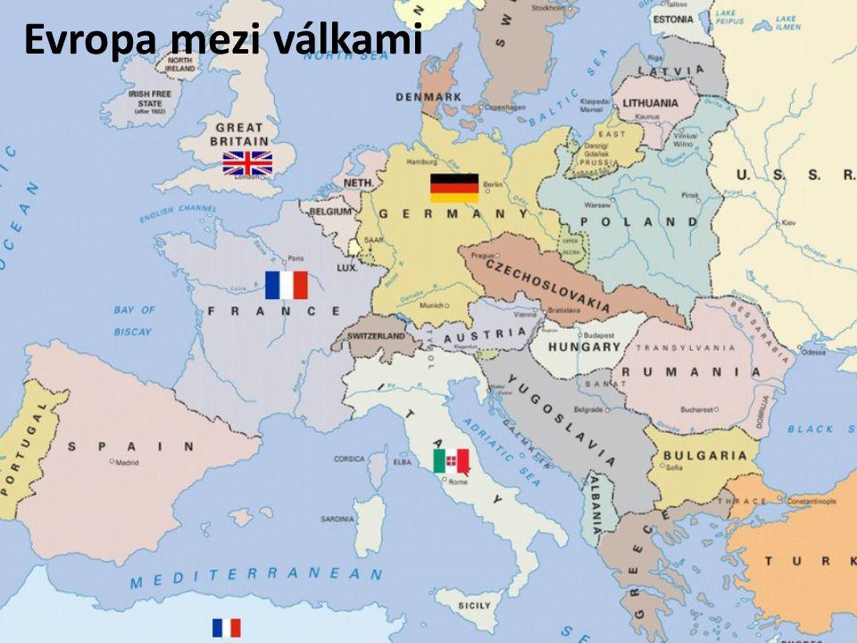 Evropa mezi válkami