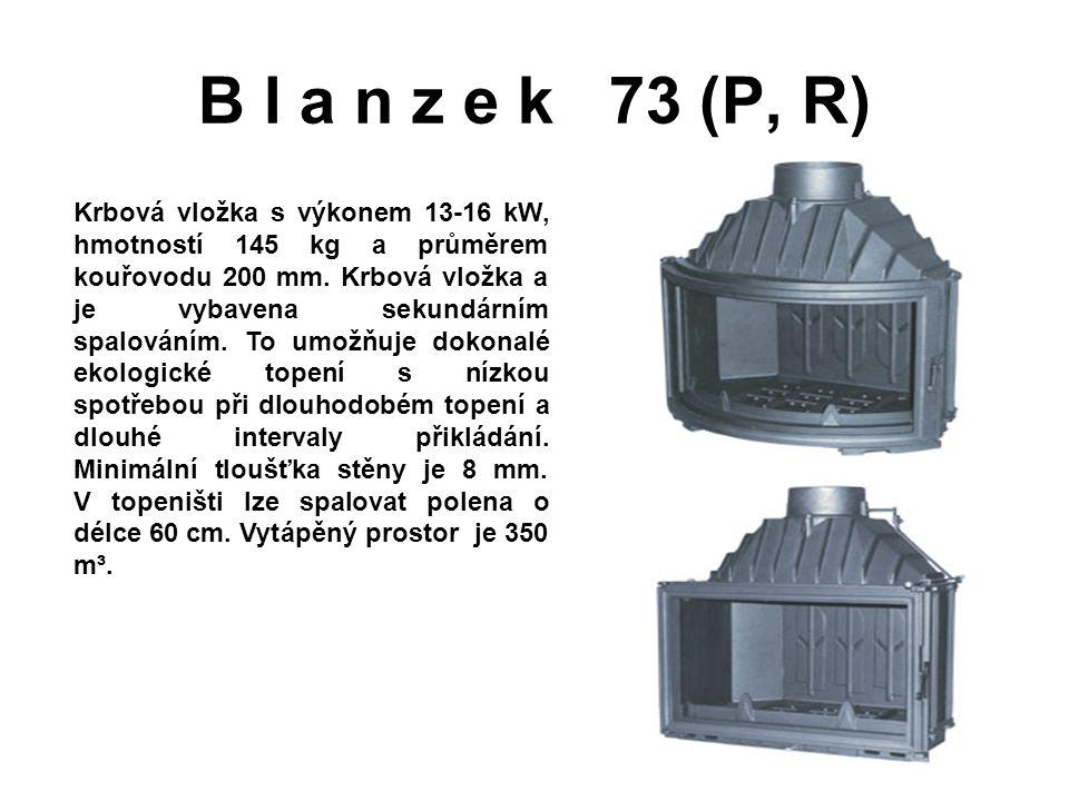 B l a n z e k 73 (P, R)
