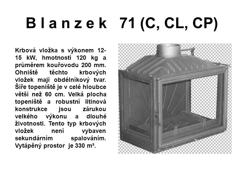 B l a n z e k 71 (C, CL, CP)