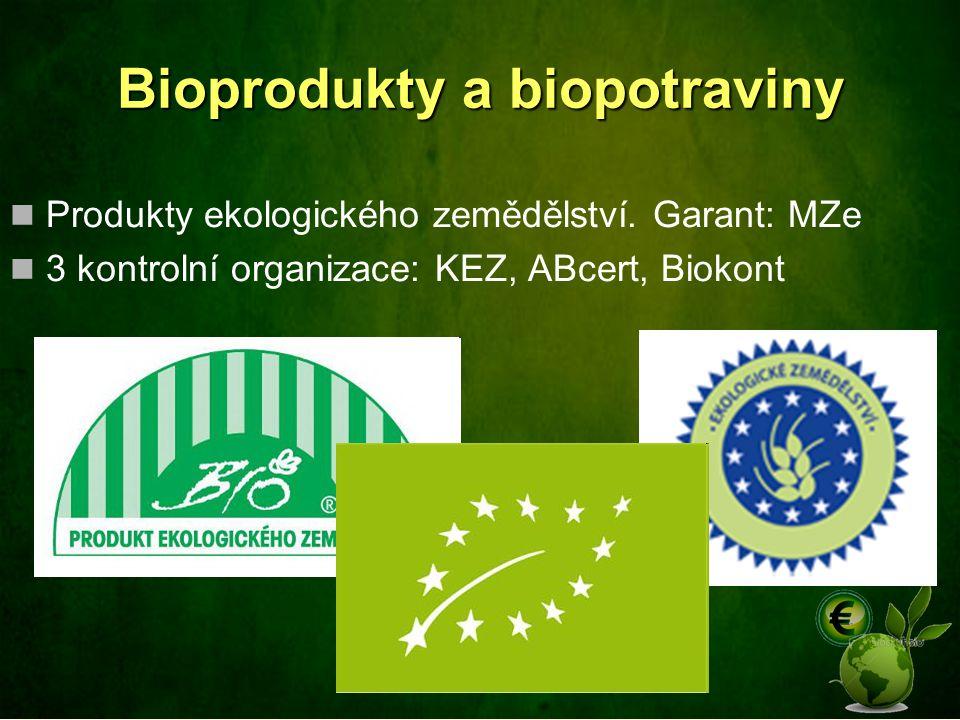 Bioprodukty a biopotraviny