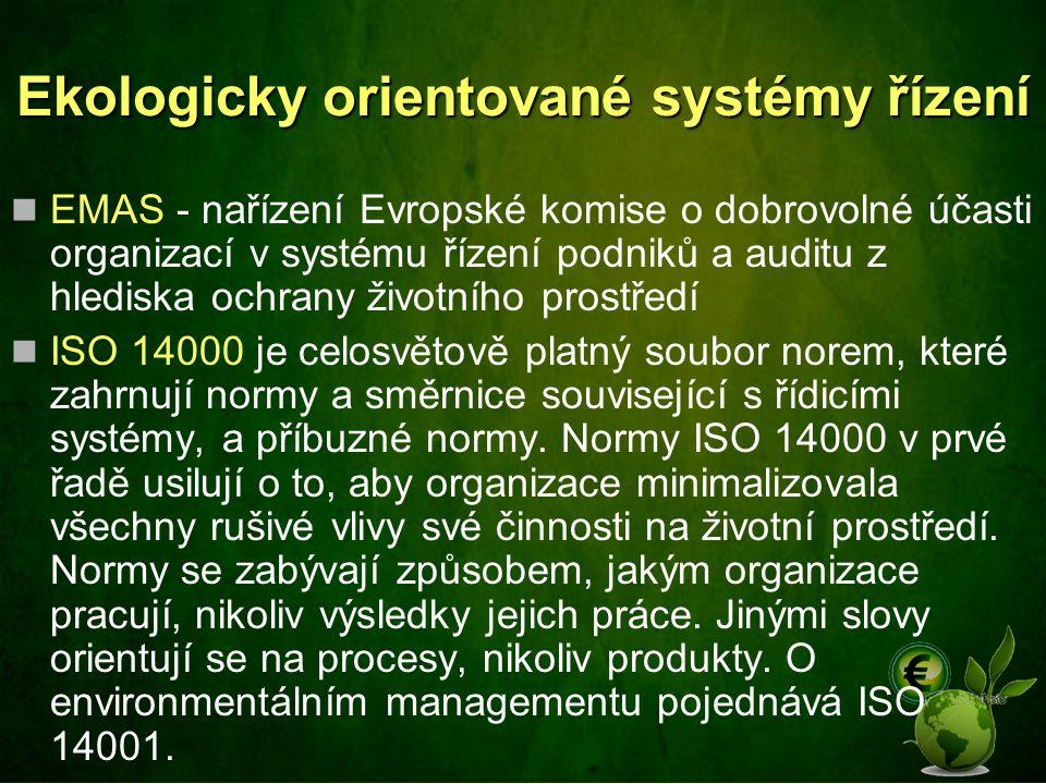 Ekologicky orientované systémy řízení
