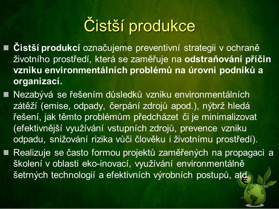 Čistší produkce