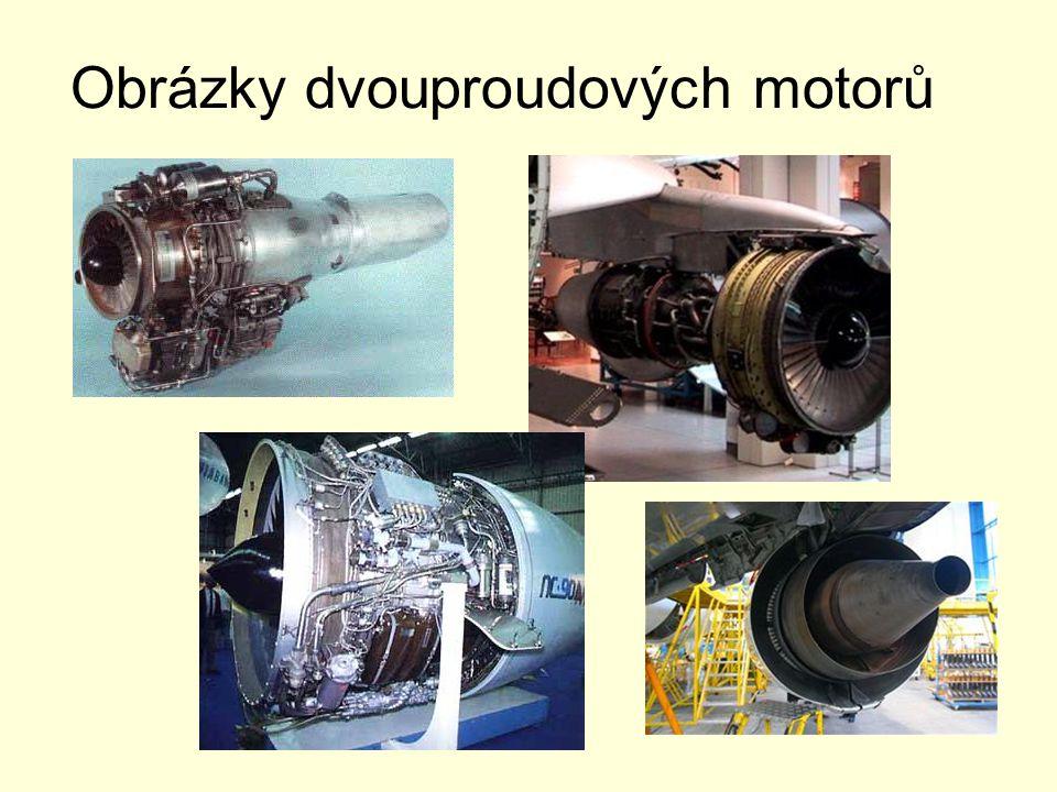 Obrázky dvouproudových motorů