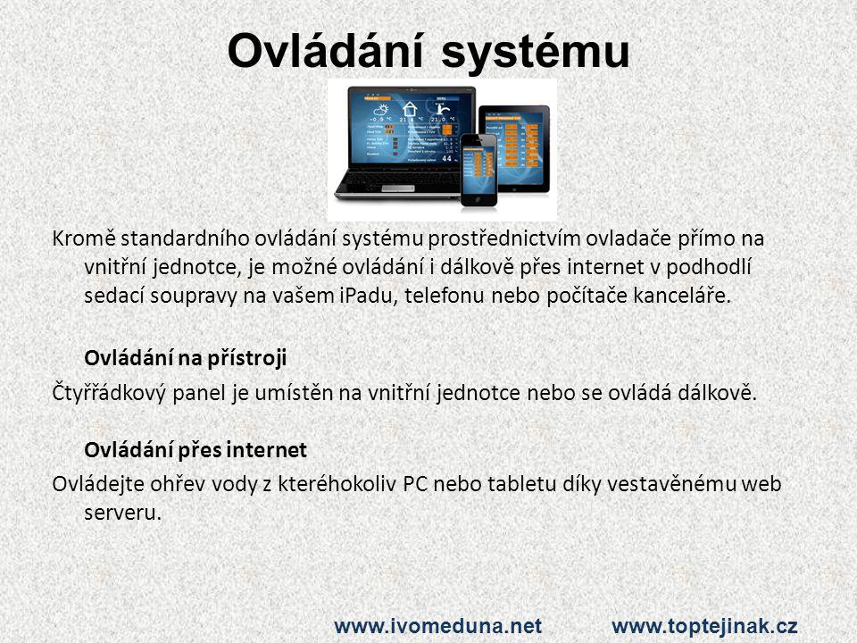 Ovládání systému