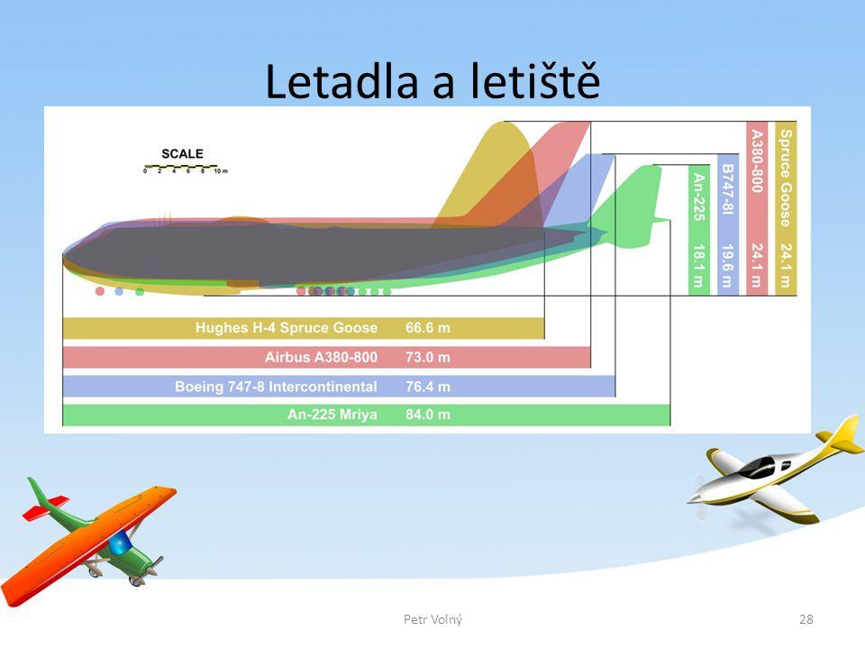Letadla a letiště Počet cestujících přepravených v letecké dopravě v ČR od roku 2001 do roku 2010. Petr Volný.