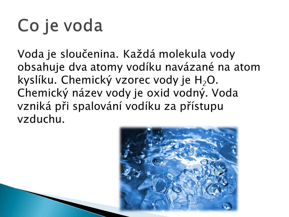 Co je voda