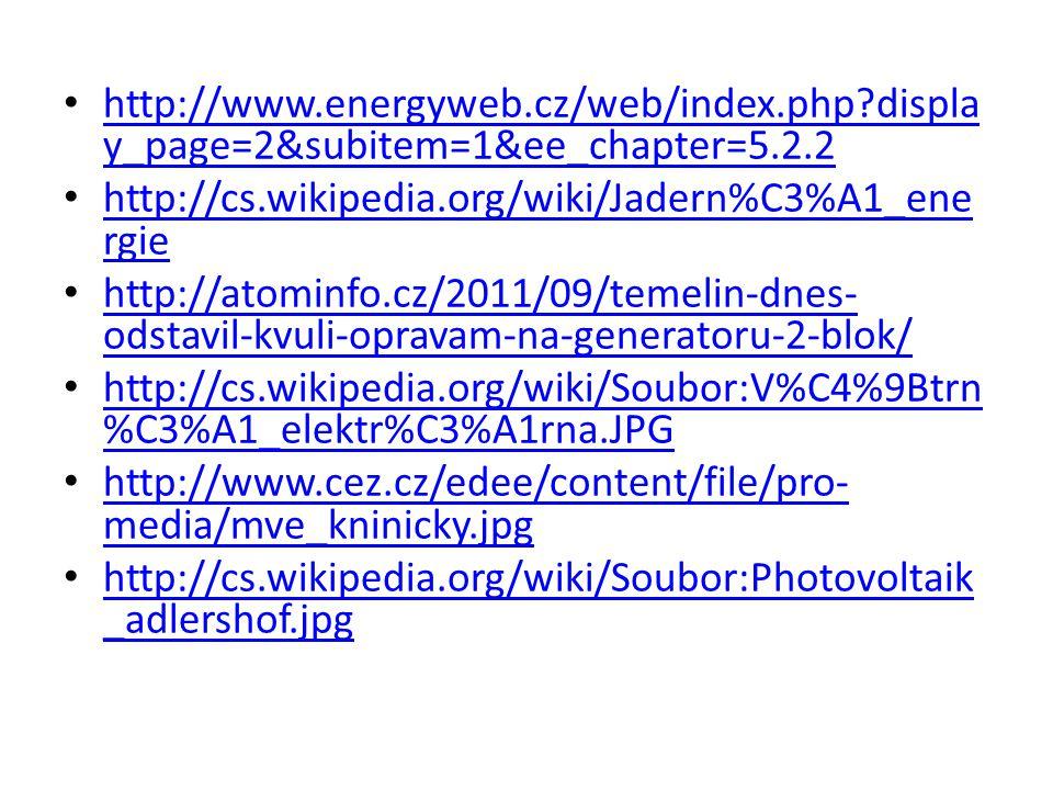 http://www. energyweb. cz/web/index. php