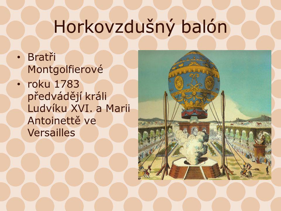 Horkovzdušný balón Bratři Montgolfierové