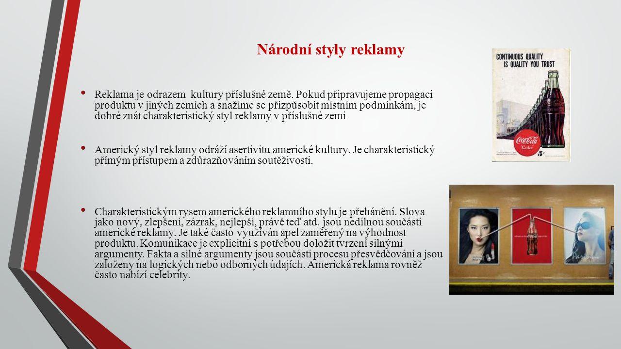 Národní styly reklamy