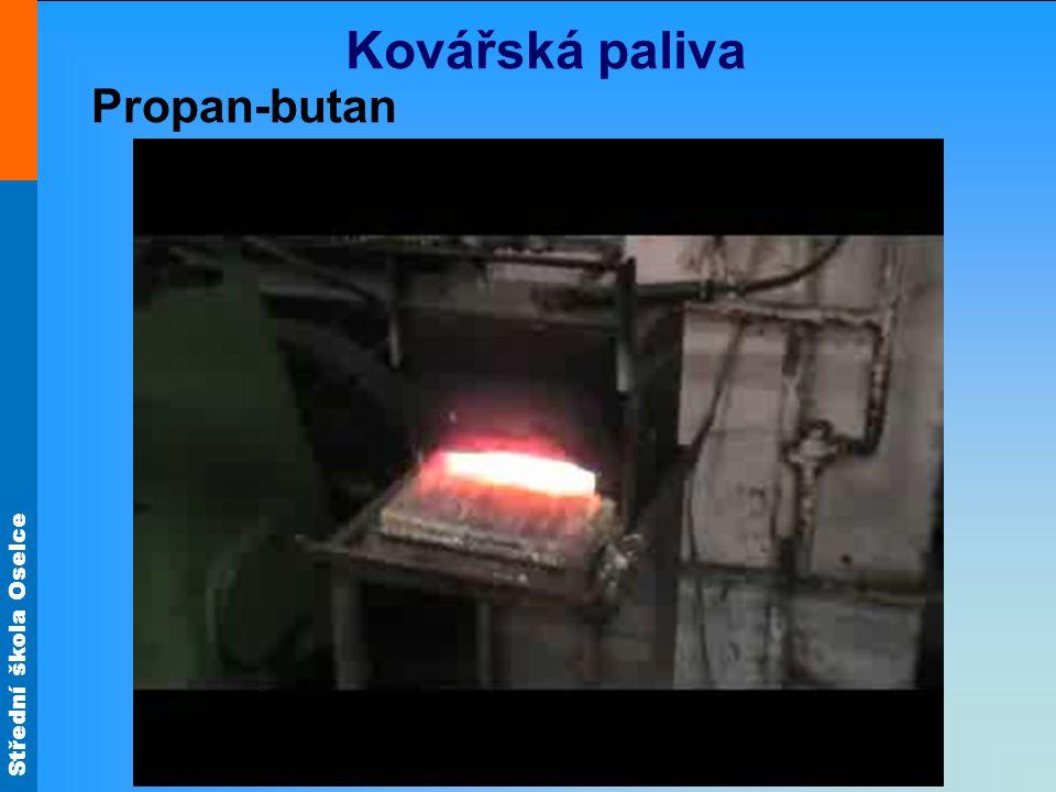 Kovářská paliva Propan-butan