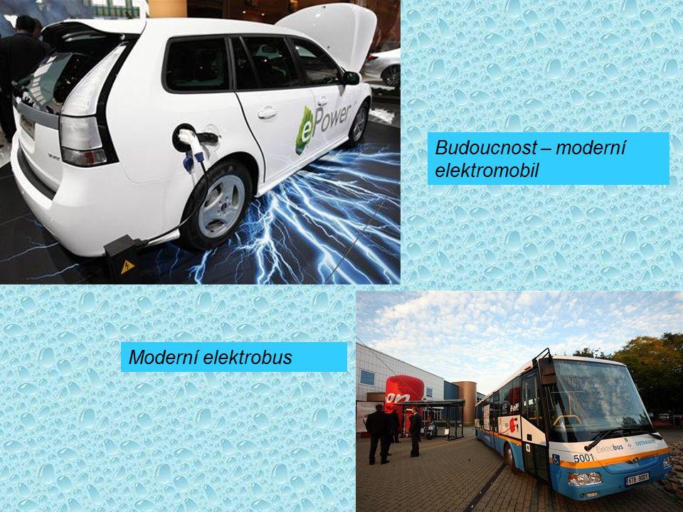 Budoucnost – moderní elektromobil