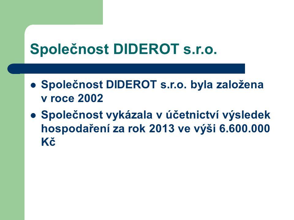 Společnost DIDEROT s.r.o.