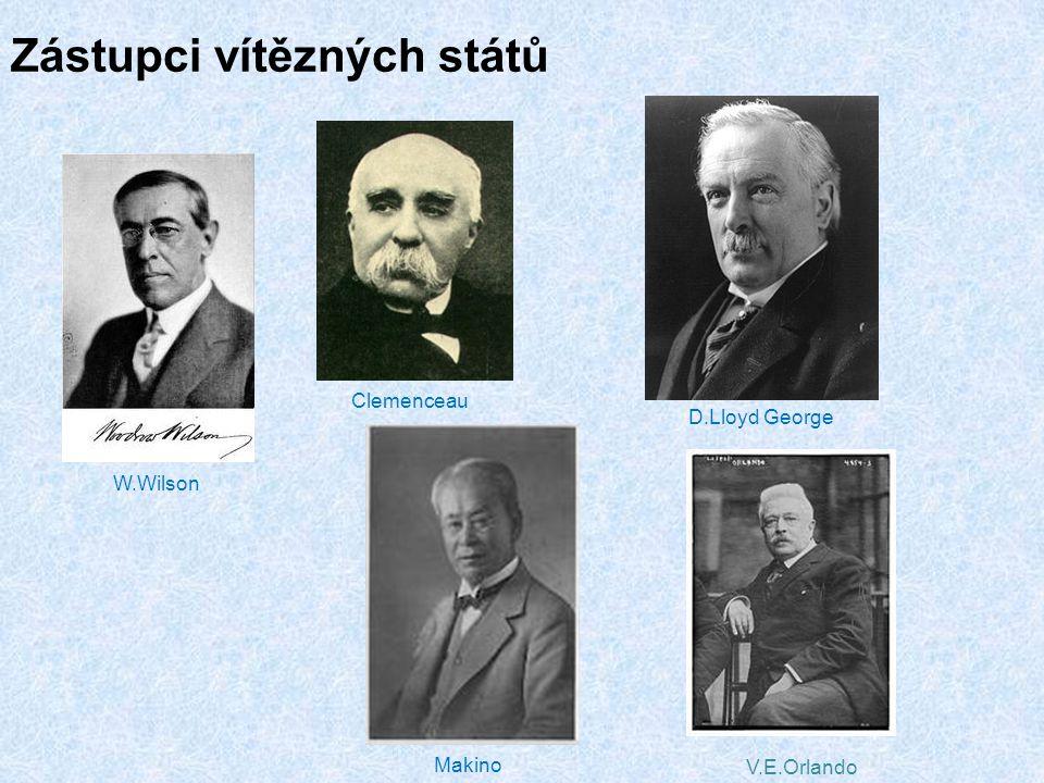 Zástupci vítězných států