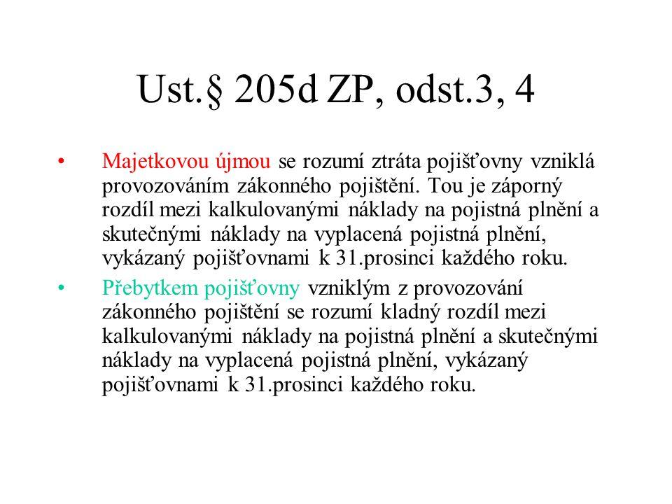 Ust.§ 205d ZP, odst.3, 4