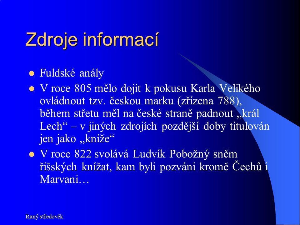 Zdroje informací Fuldské anály