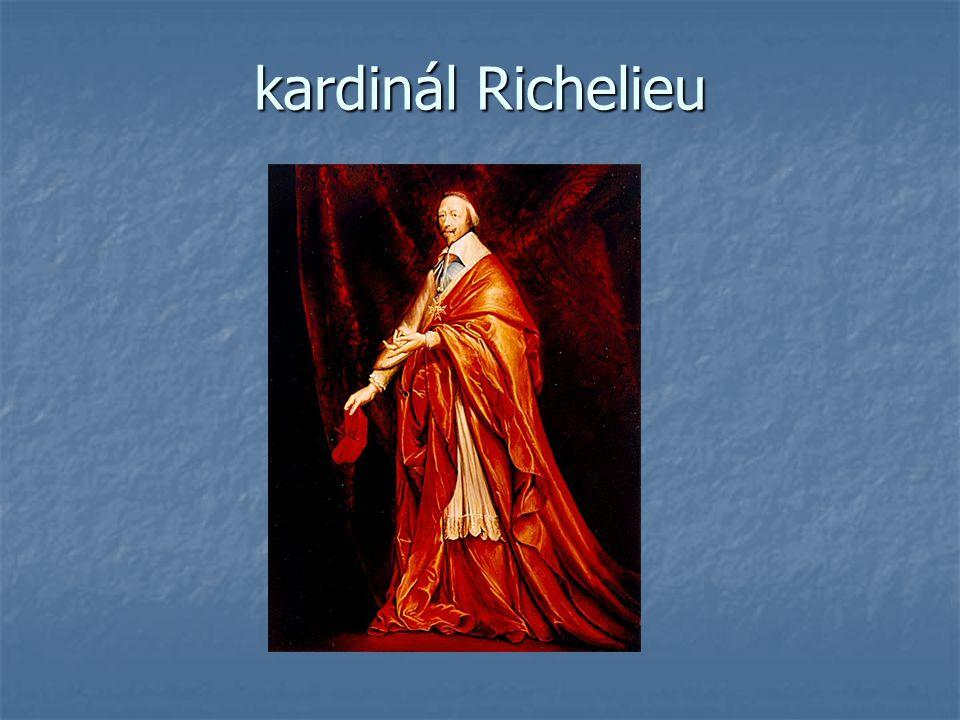 kardinál Richelieu