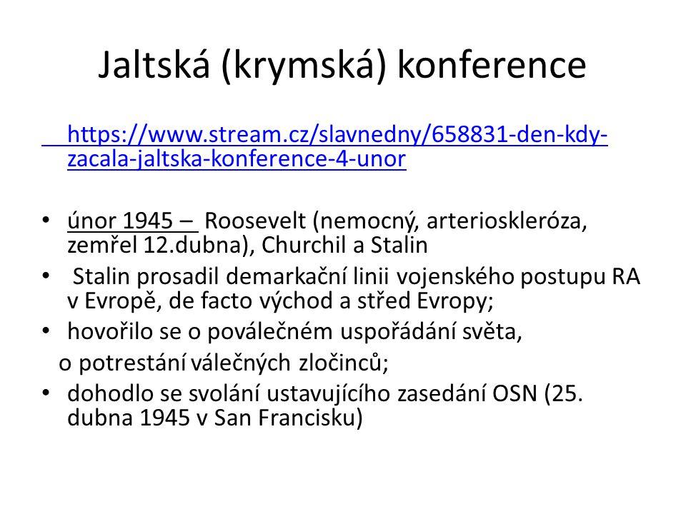 Jaltská (krymská) konference