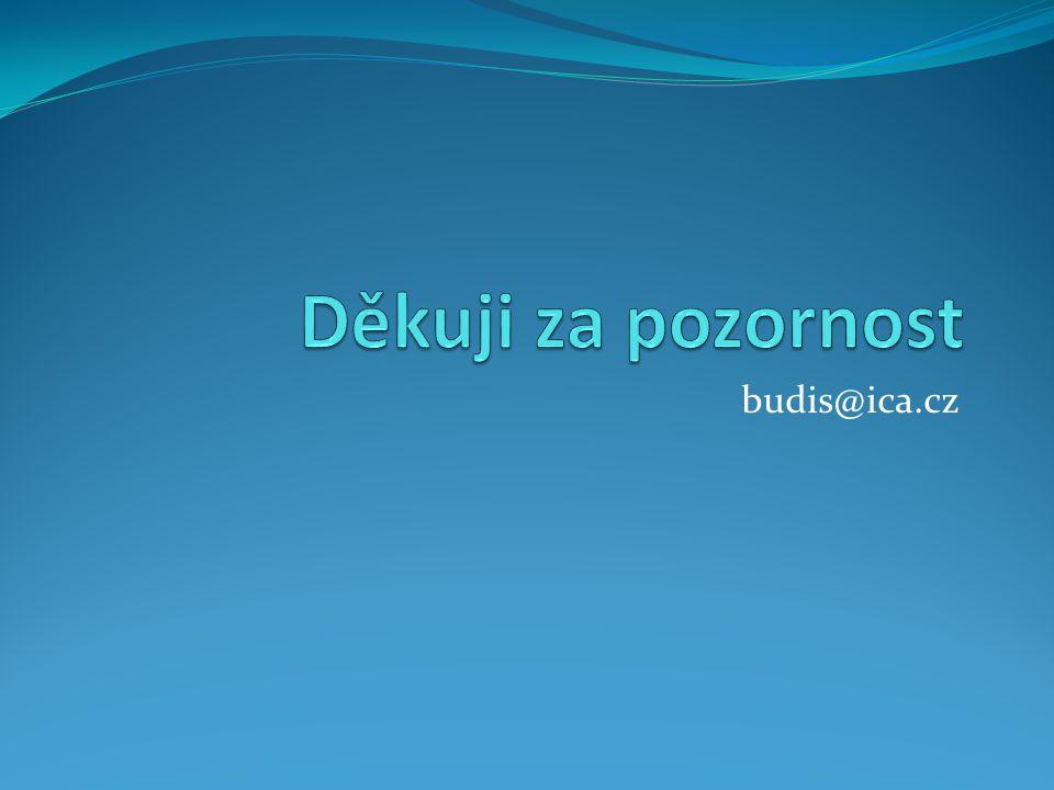 Děkuji za pozornost budis@ica.cz