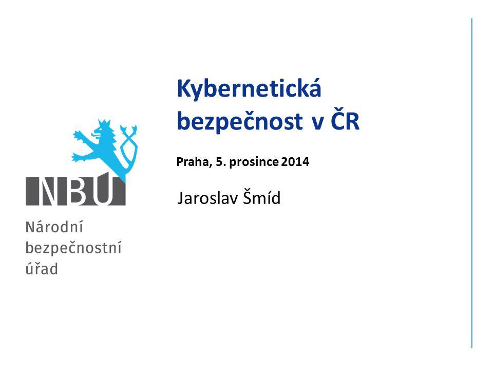 Kybernetická bezpečnost v ČR