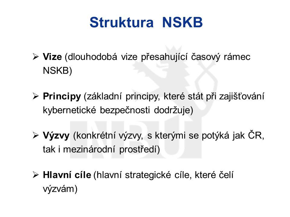 Struktura NSKB Vize (dlouhodobá vize přesahující časový rámec NSKB)