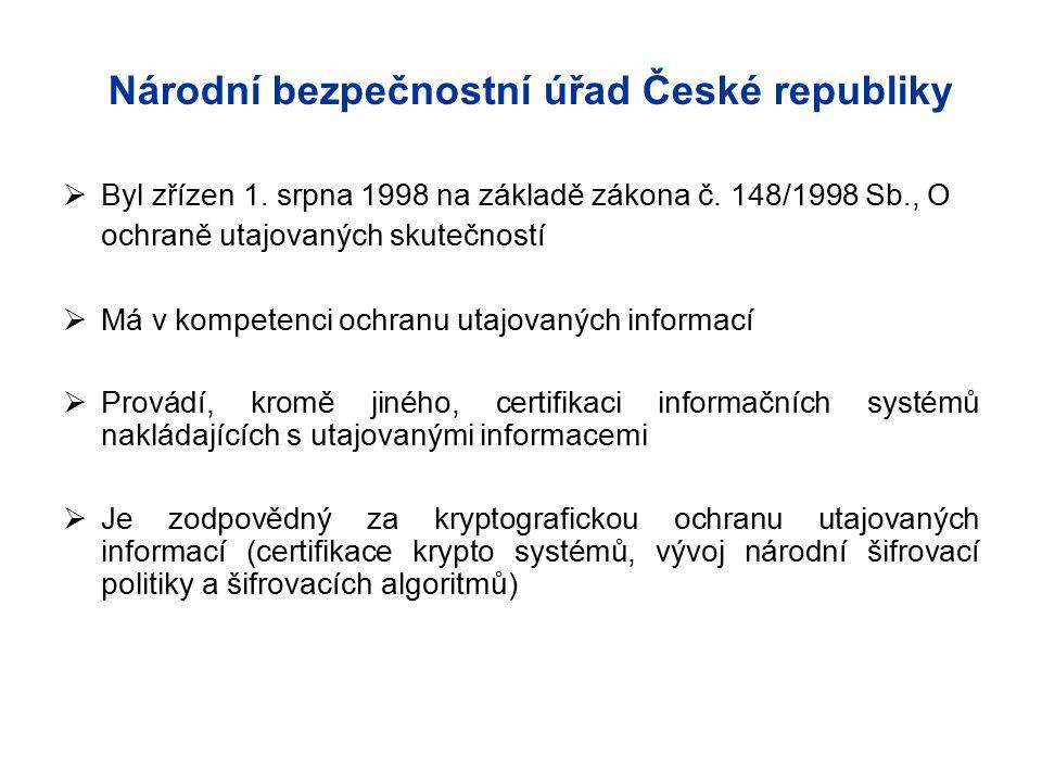 Národní bezpečnostní úřad České republiky